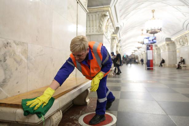 Stacja metra w Rosji