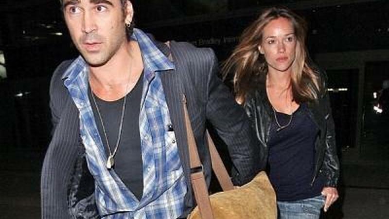 Alicja Bachleda-Curuś i Colin Farrell na lotnisku LAX w LA po powrocie z wakacji - najnowsze zdjęcia!