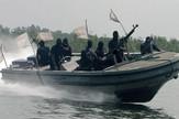 Nigerija militanti patroliraju u potrazi za piratima EPA GEORGE ESIRI