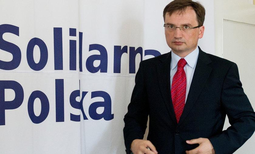 Zbigniew Ziobro to były minister sprawiedliwości
