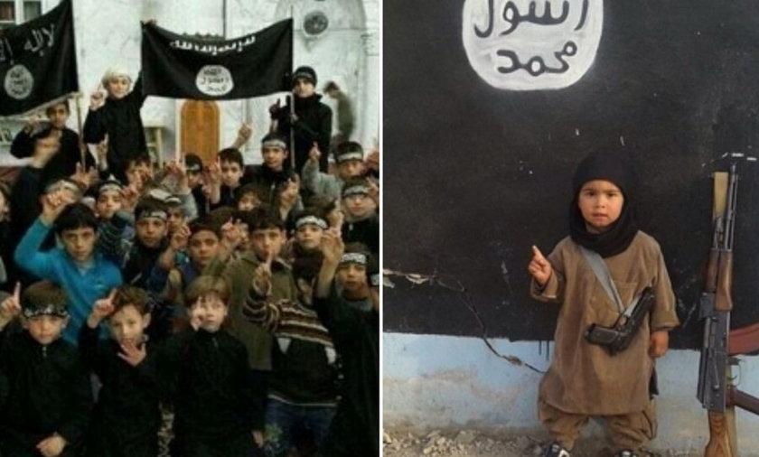 Tak islamiści szkolą dzieci na zabójców