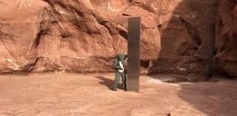Przypadkiem znaleźli tajemniczy monolit. Co to jest?