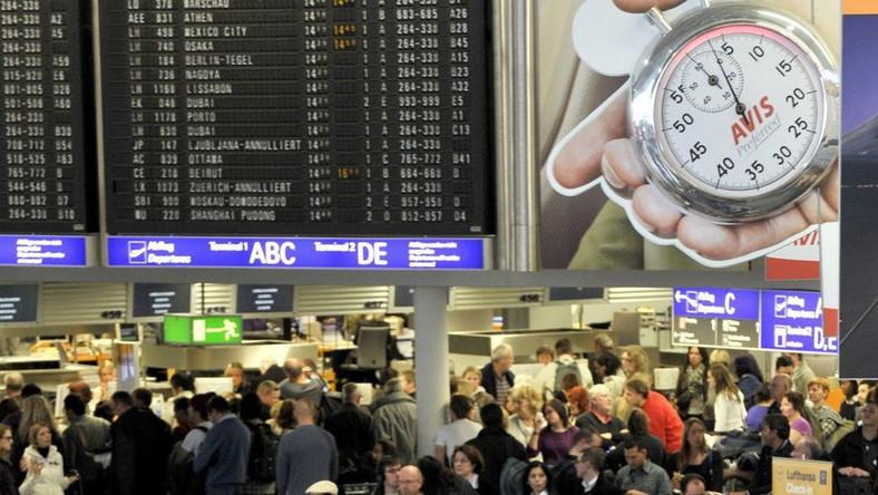 Trwa paraliż na europejskich lotniskach