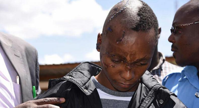Naftali Kinuthia at the Eldoret High Court on April 15, 2019. (Jared Nyataya   Nation Media Group)