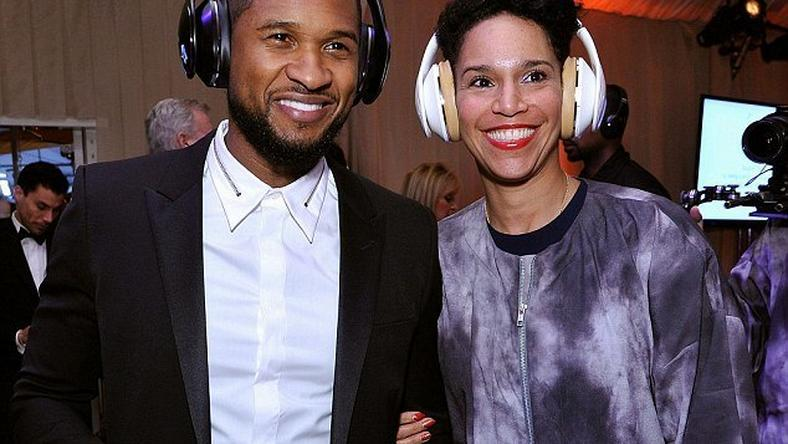 Usher engaged to longtime girlfriend and business partner, Grace Miguel