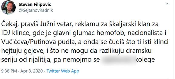 Stevan Filipović o Bikoviću
