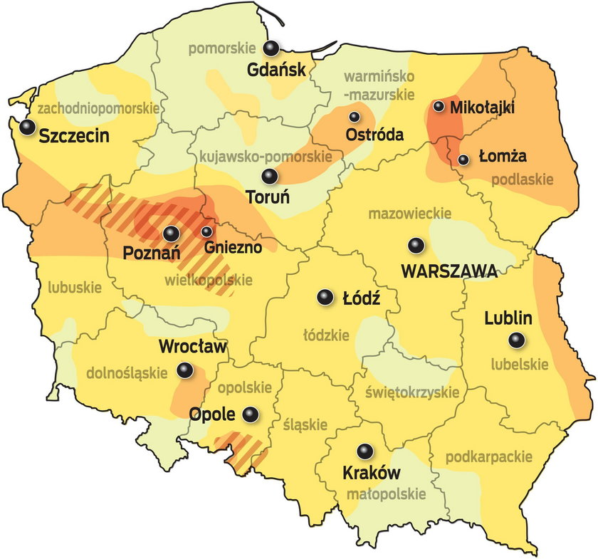 Czy Polska wyschnie na wiór?