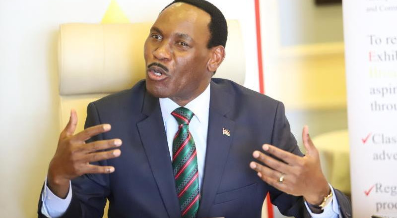 Kenyans have very big appetite for bad news – Ezekiel Mutua
