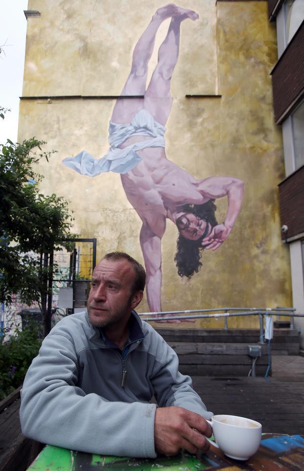 Jezus Chrystus w wersji breakdance
