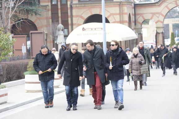 Nebojša Ilić, Srđan Timarov, Nenad Jezdić i Gordan Kičić