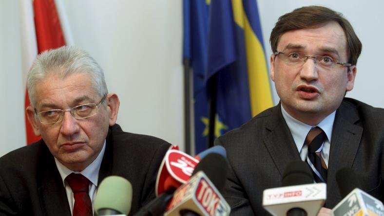 Zbigniew Ziobro, fot. PAP/Andrzej Grygiel