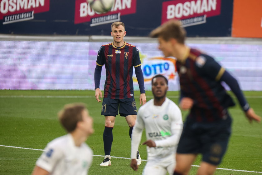 Paweł Stolarski (25 l.) kilka miesięcy czekał, by zagrać w podstawowym składzie Pogoni Szczecin w ekstraklasie.