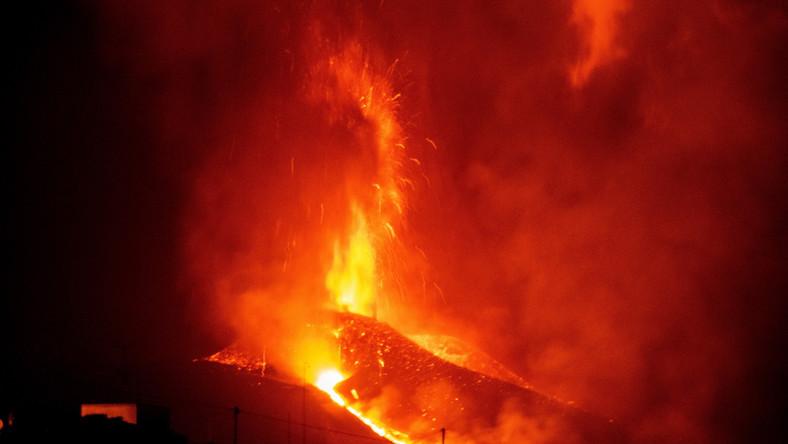 Erupcja wulkanu La Palma