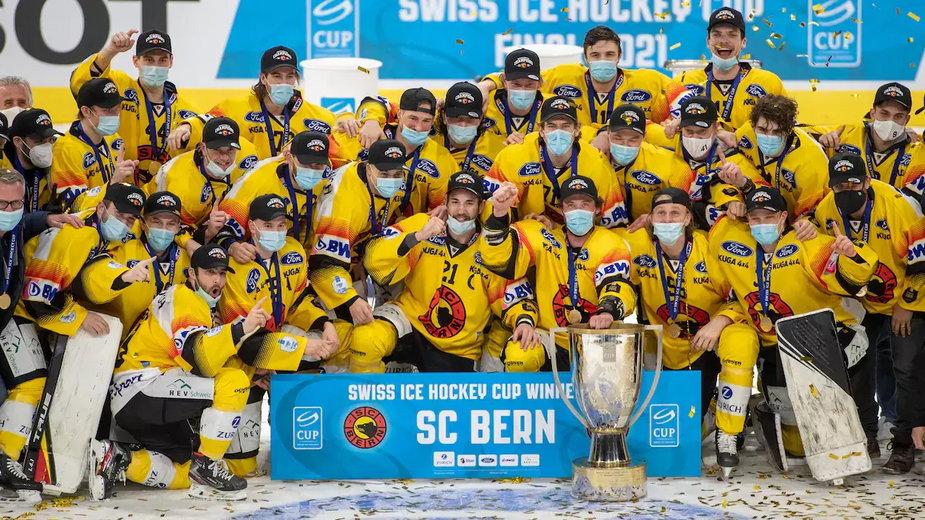 SC Bern z Pucharem Szwajcarii