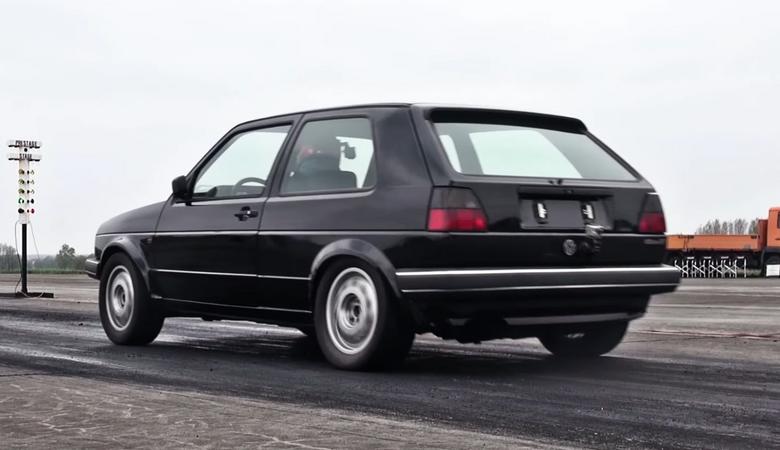 VW Golf Mk2 o mocy 1233 KM - hatch na co dzień...
