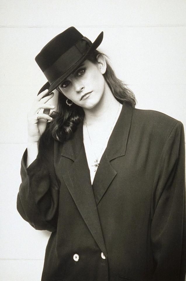 Courteney Cox w 1989 r.