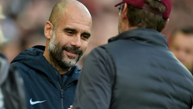 Pep Guardiola and Jurgen Klopp don't see eye to eye on Manchester City's weaknesses