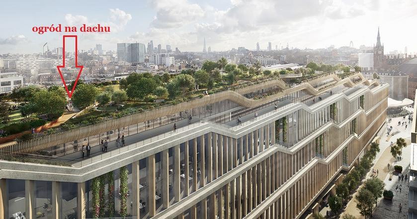 Budowa nowej siedziby Google'a w Londynie ruszy pełną parą w 2018 roku