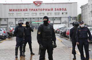 Białoruś: Władze Mińska zapowiadają 'zaprowadzenie porządku' w mieście