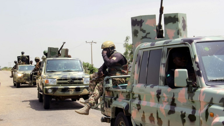 Soldiers battling Boko Haram in the northeast (AFP)