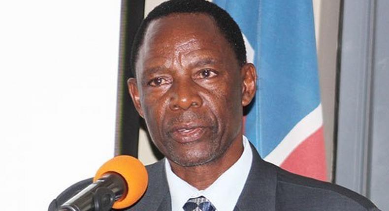Richard Kamwi, former health minister, Namibia.