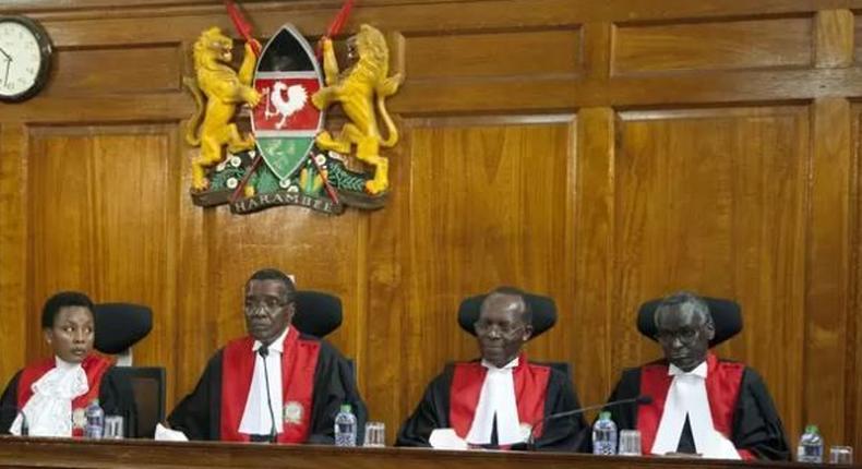 Kenyan Supreme Court judges