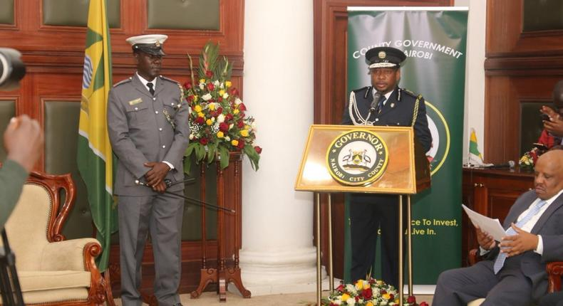 20 kanjo given guns and reassigned after Nairobi Governor Mike Sonko lost police protection
