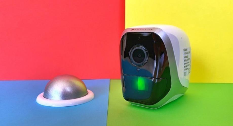 Visortech Camera im Test: Akku-Cam mit 6 Monaten Laufzeit