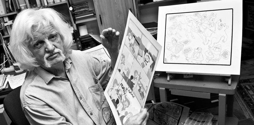 """Papcio Chmiel nie żyje. Twórca komiksu """"Tytus, Romek i A'Tomek"""" miał 97 lat"""