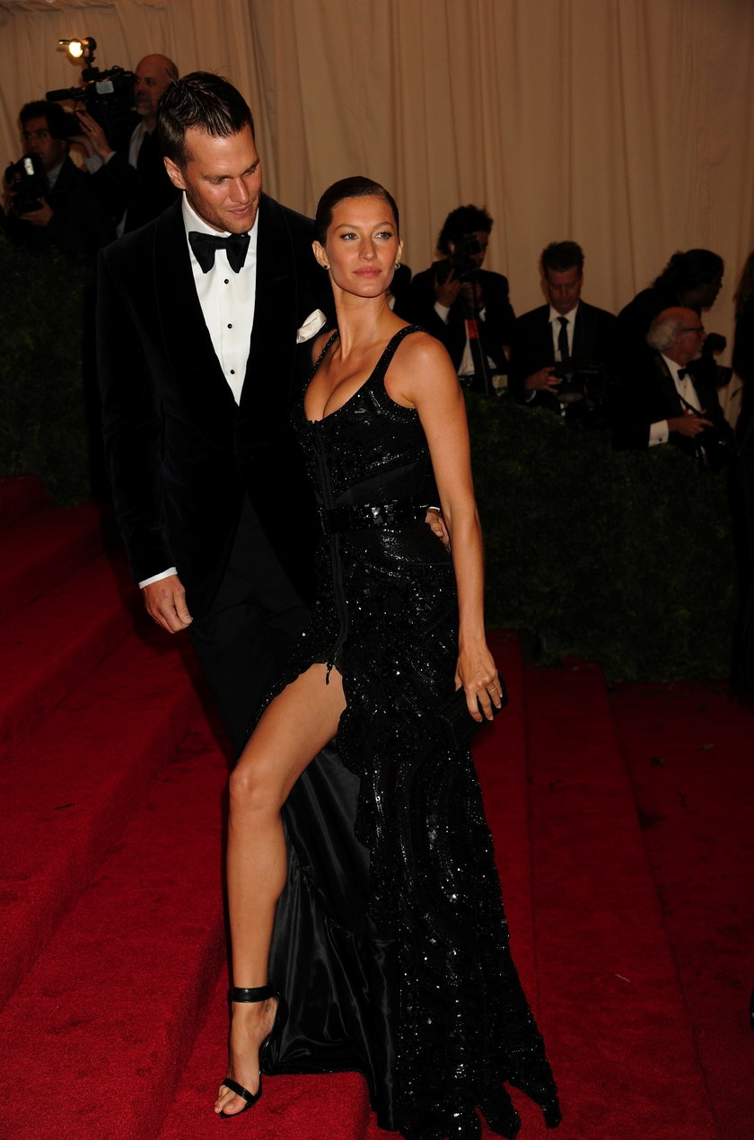 Tom Brady (futbolista) and Gisele Bundchen (modelka)