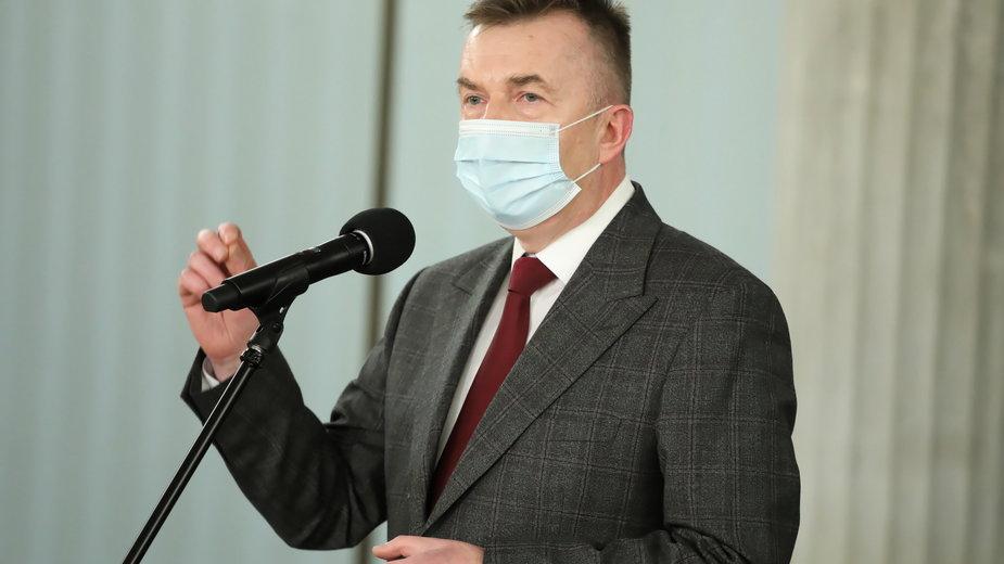 Dariusz Wieczorek, sekretarz klubu Lewicy