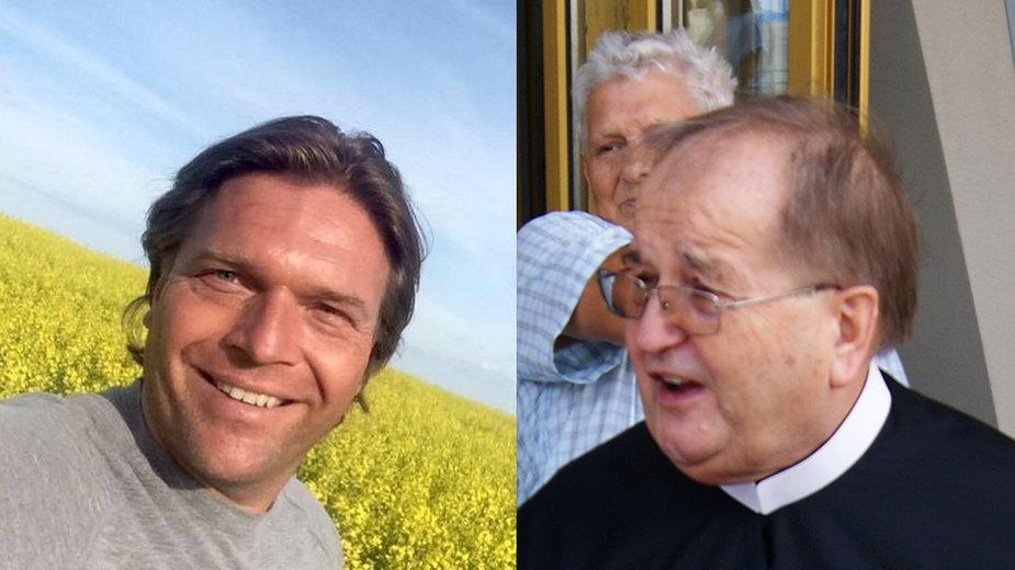 Thomas Lukaszuk i ojciec Tadeusz Rydzyk