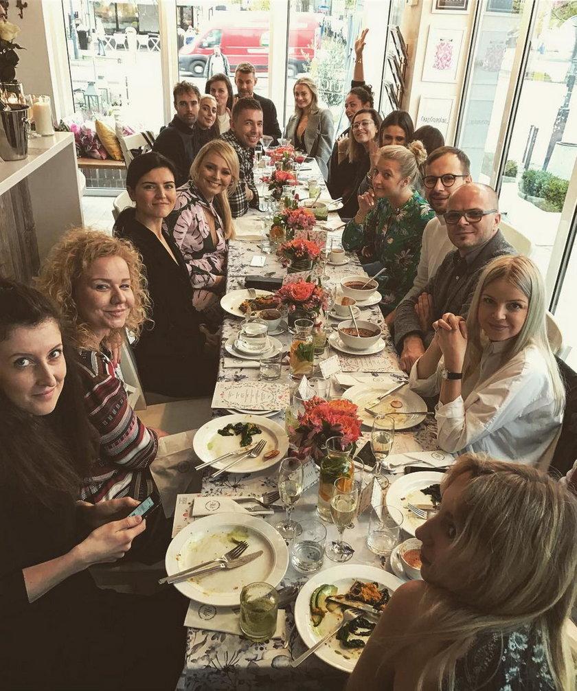Celebryci na śniadaniu Anny Jagodzińskiej
