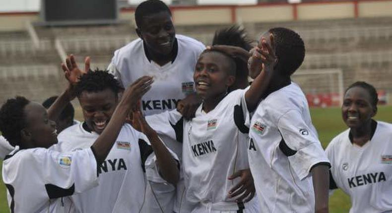 The Kenya Under 20 team