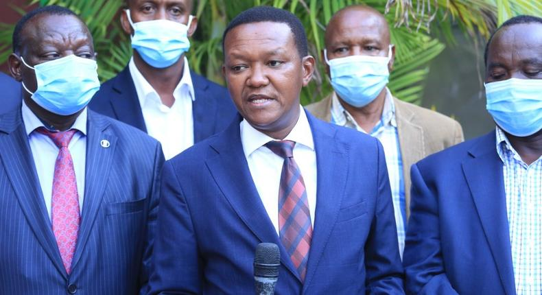 Mutua's response to fan who accused him of being bribed to withdraw MCC candidate in Machakos senatorial by-election