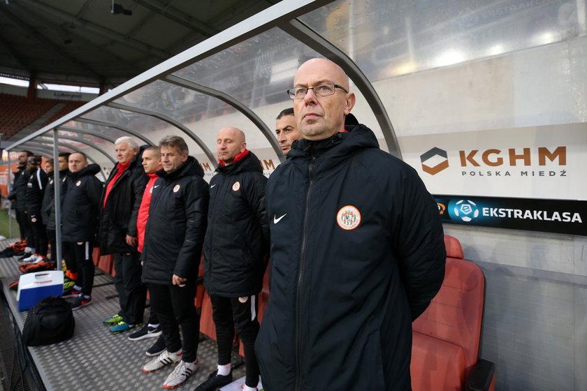 Pilka nozna. Ekstraklasa. Zaglebie Lubin - Legia Warszawa. 25.11.2018