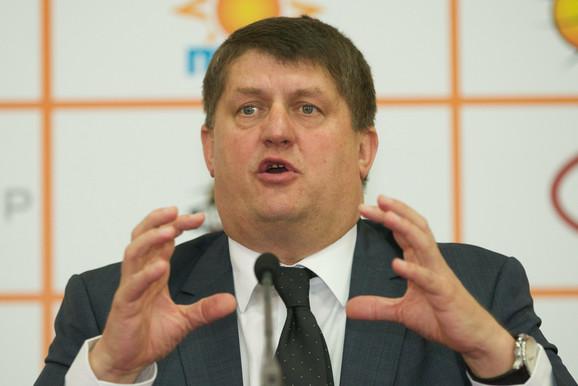 Generalni menadžer Olimpije Roman Lisac
