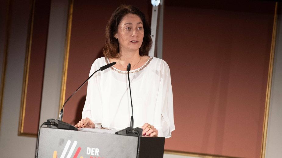 Wiceprzewodnicząca PE Katarina Barley