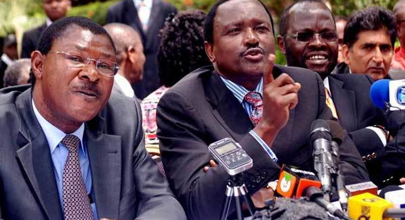 Nasa leaders Kalonzo Musyoka and Moses Wetangula have rubbished recent pollsters that show Raila Odinga is the most popular opposition candidate.
