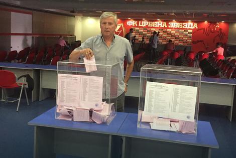 Pižon glasa na izborima za Zvezdinu skupštinu