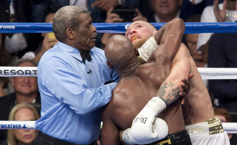 Walka Conor McGregor vs Floyd Mayweather