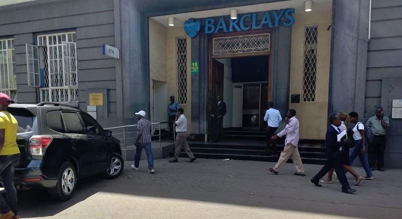 Barclays Bank, Kingsway branch, located on Mama Ngina Street