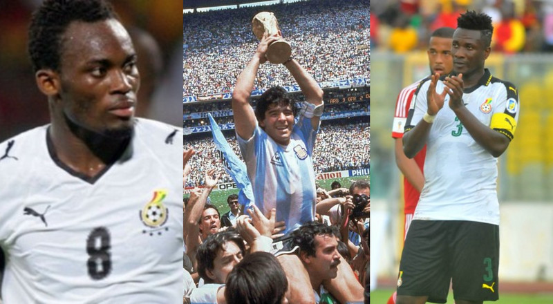 Asamoah Gyan, Michael Essien pay tribute to Diego Maradona