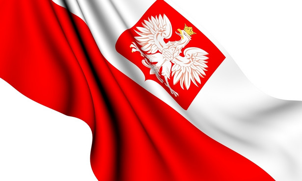 Flaga Polska.