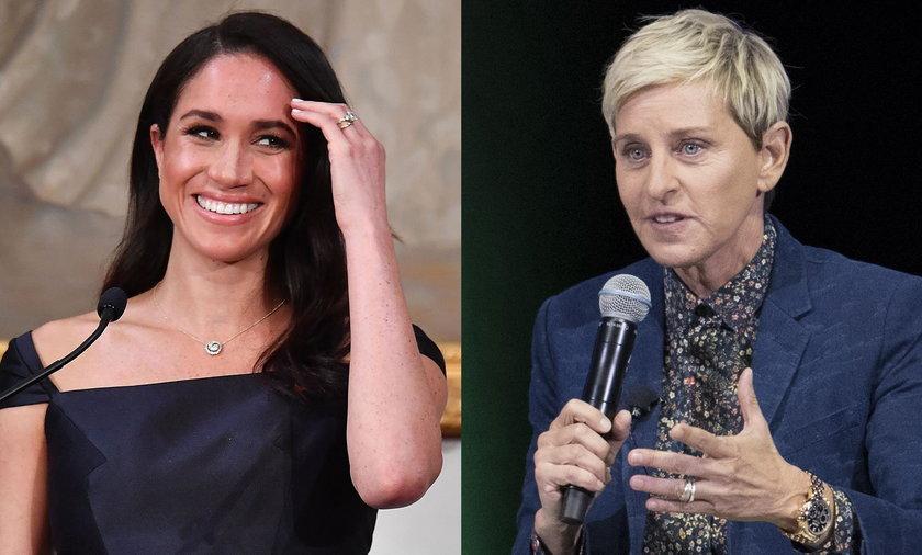 Meghan Markle i Ellen DeGeneres
