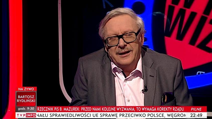 Tvp żegna Szydło Marcin Wolski Przygotował Wiesz Nazywa Ją