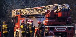Groza w Gdyni! Spłonął dom przy ul. Wiczlińskiej