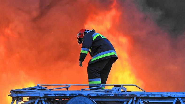 Seria pożarów na Śląsku