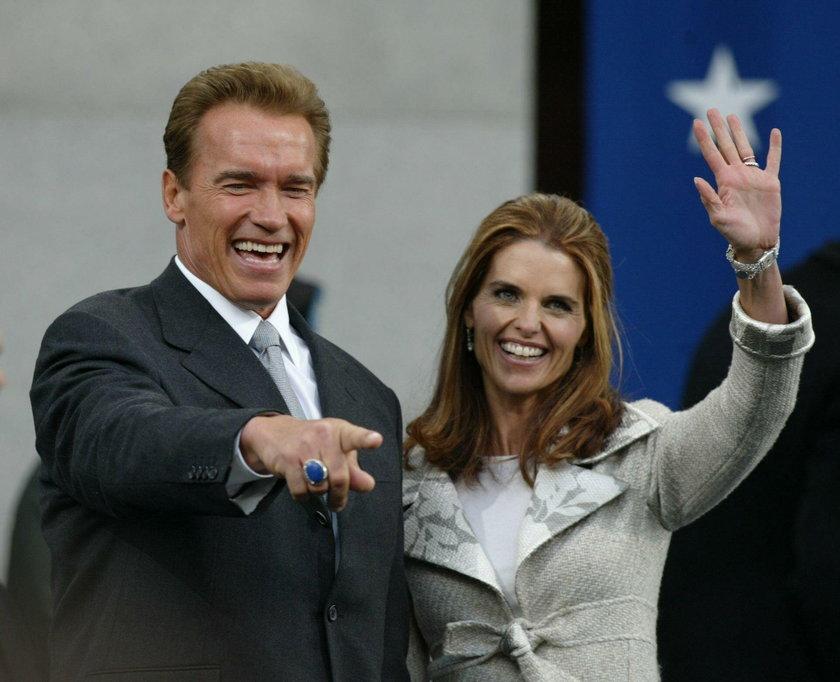 Arnold Schwarzenegger i Maria Shrive