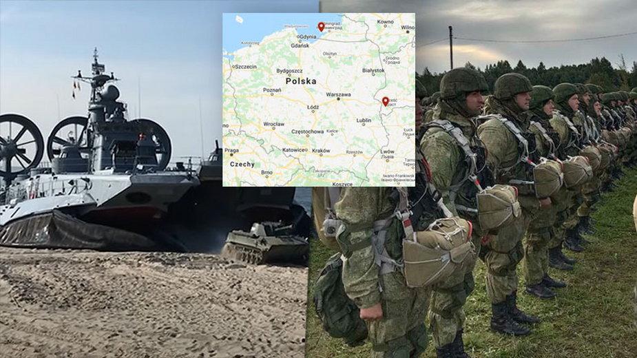 Zapad-2021. Rosjanie ćwiczyli desant w pobliżu granicy z Polską